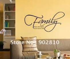 Living Room Wall Decals Wall Quotes And Sayings In Wall Sayings - Family room wall quotes