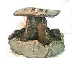 Stone Top Patio Table by Amazon Com Garden Fountain Cast Stone Rock Falls Pond Tuscan