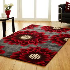 grey and red rug rugs decoration