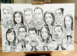 thumbtack board meeting pete mcdonnell bay area caricature artist