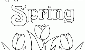 spring coloring pages printablefree coloring pages kids free