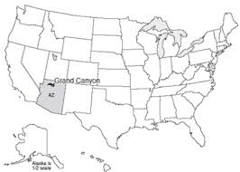 map of the united states with arizona highlighted where is the grand my grand park maps usa map grand
