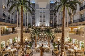 winter garden at the landmark london hotel u2013 london bookatable