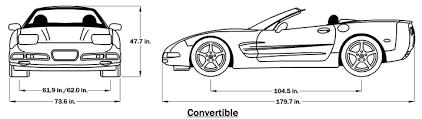 c5 corvette dimensions 2001 c5 corvette guide overview specs vin info