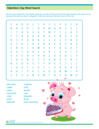 valentine u0027s day worksheets valentine coloring pages