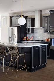 kitchen backsplash ideas black cabinets 39 black kitchen cabinet ideas entering the side
