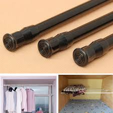Horse Curtain Rod by Extendable Adjustable Spring Tension Window Curtain Rod Pole