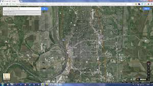 St Joseph River Map St Joseph Missouri Map