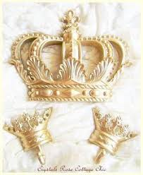 Large Crown Wall Decor Gold Princess Crown Gold Crown Nursery By Theshabbystore On Etsy