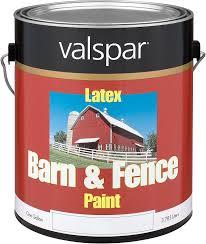 amazon com 1 gallon white exterior barn u0026 fence latex paint 18