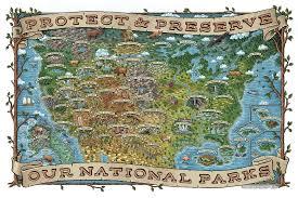 map us parks us national parks map designcollector