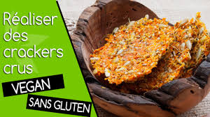 cuisiner les l馮umes autrement crackers de légumes crus utiliser la pulpe de l extracteur
