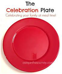 celebration plate the celebration plate