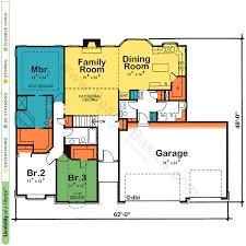 floor plan designs for homes one house plans with open floor plans design basics inside