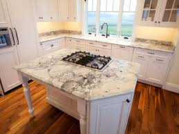 interior beautiful colonial white granite with central kitchen