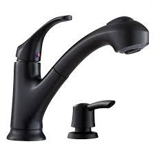 black pull out kitchen faucet shop moen renzo matte black 1 handle pull out kitchen faucet at