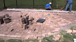 Patio Pavers Prices Belgard Cambridge Cobble Paver Patio With Pit And Seating