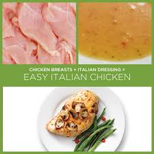 34 insanely simple two ingredient recipes italian dressing
