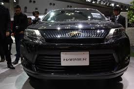 harrier lexus interior 2013 tokyo motor show live toyota harrier