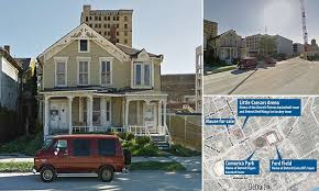 dilapidated house in detroit hits the market for 5m daily mail