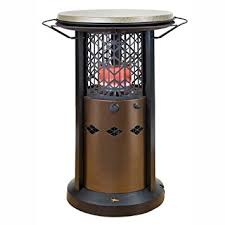Table Patio Heaters Outdoor Leisure Propane Bistro Table Patio Heater