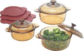 Vermont Country Kitchen - visions cookware set of 9 pieces from the vermont country store