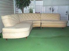 Curved Sofa Sectional by Curved Sectional Couches Vintage Art Deco Red Velvet And Vinyl