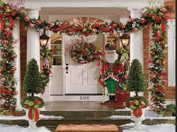 simple outdoor christmas decorations ideas
