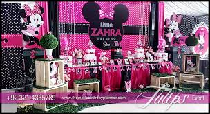 Minnie Mouse Party Decoration Ideas Masterly