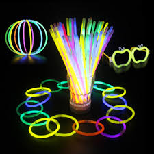 glow sticks 100pcs glow sticks bracelets necklaces fluorescent even party