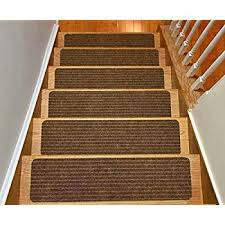 amazon com caprice bullnose carpet stair tread with adhesive