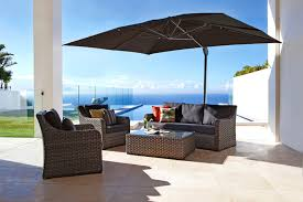 lovely cantilever patio umbrella furniture white ideas large