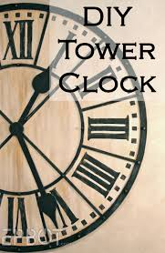 epbot diy giant tower wall clock where in my 1836 federal would