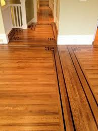 attractive hardwood floor transition transition between wood