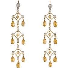 Citrine Chandelier Earrings S Earring By Metal Couture Chandelier