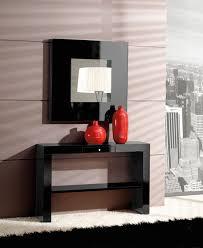 consolas muebles consola mueble entrada cajon roble con espejo madrid valencia