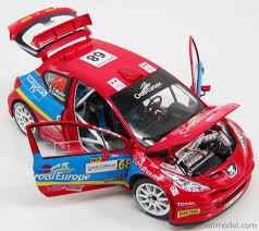 peugeot 207 rally peugeot 207 wrc toy car die cast and wheels 2000 from