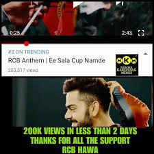 Rcb Memes - royal challengers namma team rcb home facebook