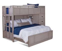 American Woodcrafters Bunk Beds Woodcrafters Provo Loft Bed In Driftwood Patina