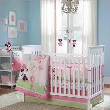 Minnie Crib Bedding Set Disney Minnie Mouse 8 Crib Bedding Set Bedding Designs
