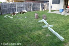 Backyard Obstacle Course Ideas Diy American Warrior Backyard Obstacle Course