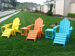 Recycled Adirondack Chairs Outdoor Furniture Plastic