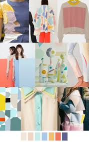 2017 color trend fashion soft shapes trends pinterest shapes mood boards and