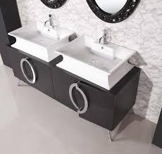 White Bathroom Vanity With Vessel Sink Bathrooms Design Glass Modern Bathroom Sinks Cool Zen â