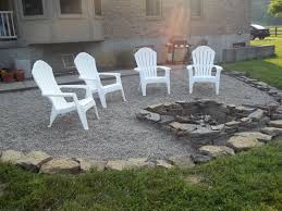 decor tips gravel patio ideas with pea and firepits also beautiful