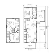 Narrow House Plan Norwood I Prairie Floor Plan Tightlines Designs