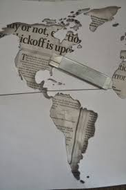 World Map Stencil by World Map On A Canvas Cheaply Crafty