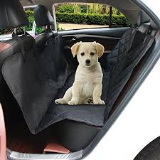 etopmia car pet seat cover for cars black waterproof u0026 hammock