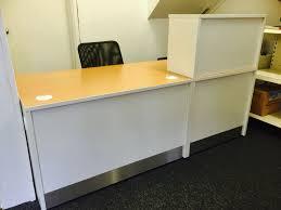 office table white reception desk australia ebay white gloss