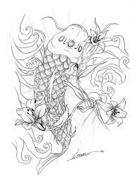 evil koi fish by skil by dopeone on deviantart